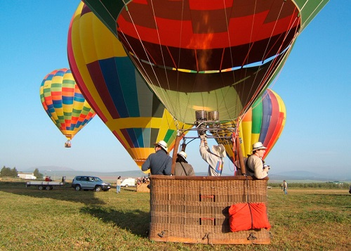 Hot air balloon ride Antequera