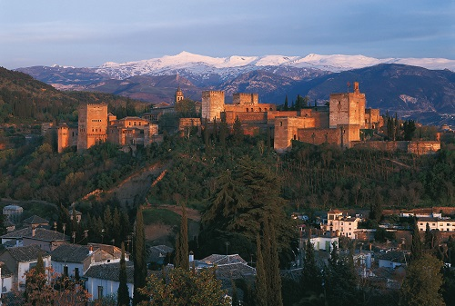 Sierra Nevada and Alhambra