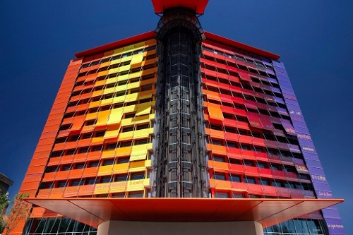 Hotel Silken Puerta América 5