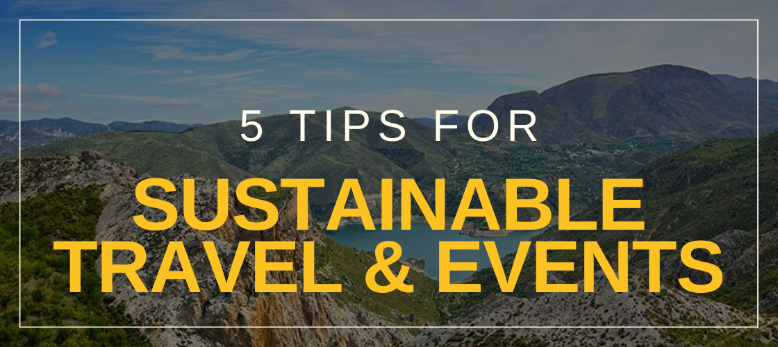 How to | 5 tips for sustainable events