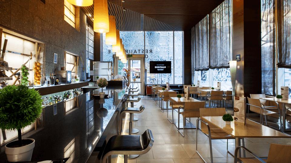 Hotel Silken Puerta Restaurante |Valencia